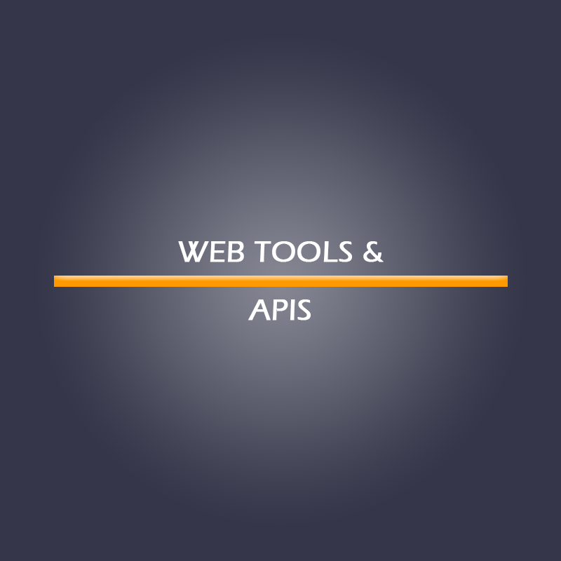 Web Tools & APIs