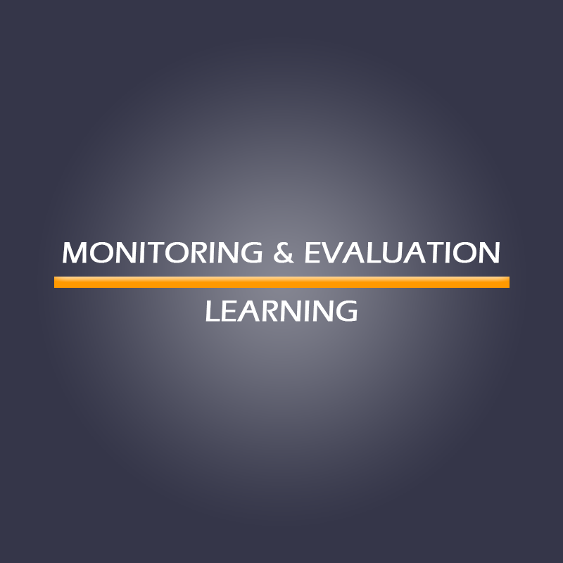 Monitoring, Evaluation & Learning